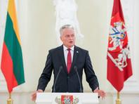 """Президент Литвы Гитанас Науседа отметил, что список согласован с Латвией и Эстонией, но это лишь """"первоначальная версия"""", и в дальнейшем он будет пополняться"""