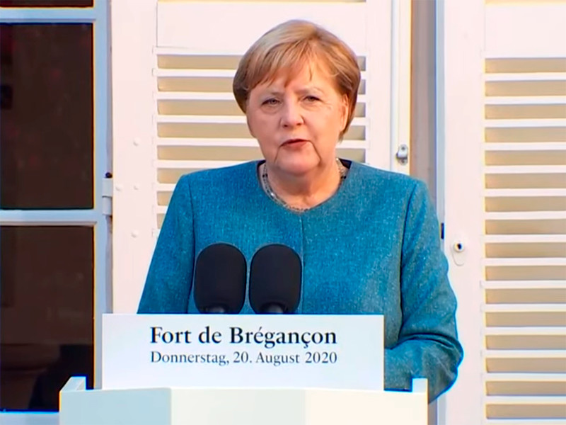 """Меркель: Германия готова принять Навального на лечение"""" />"""
