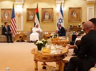 Самолет с израильской делегацией прибыл в Абу-Даби
