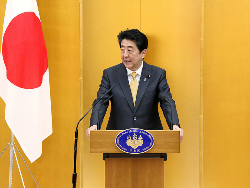 СМИ сообщили о намерении премьер-министра Японии Синдзо Абэ подать в отставку из-за проблем со здоровьем