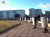 Третий день протестов в Белоруссии. В столкновениях с силовиками за это время пострадали сотни людей