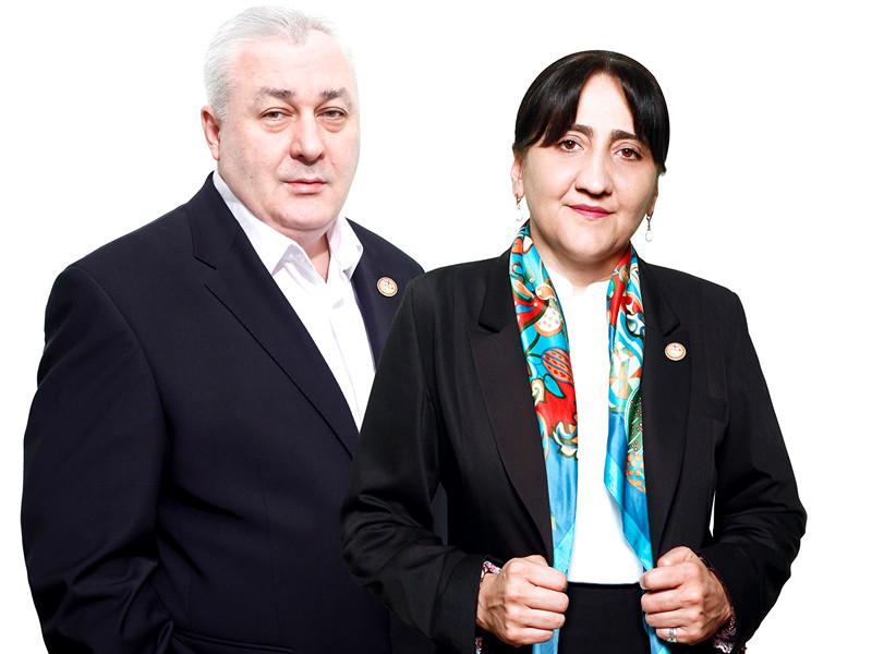 Давид Тархан-Моурави и Ирма Инашвили