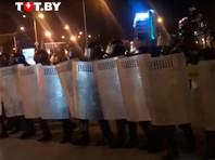 В ходе протестов в Белоруссии задержали как минимум 140 человек, возбуждено дело о массовых беспорядках