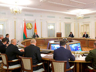 Александр Лукашенко 19 августа провел заседание Совета безопасности с участием по видеосвязи руководителей регионов