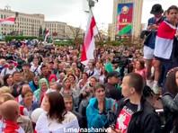 Минск, площадь Независимости, 25 августа 2020 года