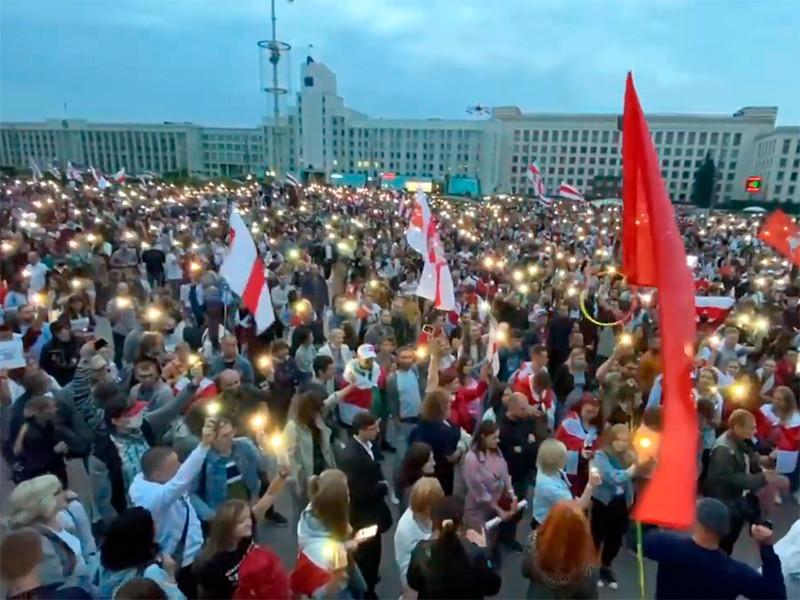 Минск, 20 августа 2020 года