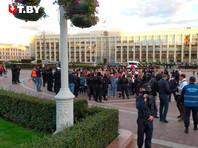 В Минске рядом с акцией протеста задержаны двое россиян