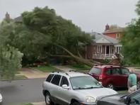 """4 августа ураган """"Исайяс"""", ослабевший до уровня тропического шторма вскоре после его выхода на сушу в штате Северная Каролина, пронесся по США, оставив ущерб на обширной территории Восточного побережья - от Южной Каролины до границы с Канадой"""