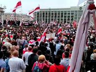"В пресс-службе Лукашенко сбор протестующих у Дворца независимости назвали попыткой ""штурма"" (ВИДЕО)"