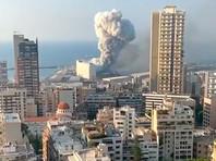 В Бейруте прогремело два мощных взрыва. Не менее 50 погибших, тысячи пострадавших