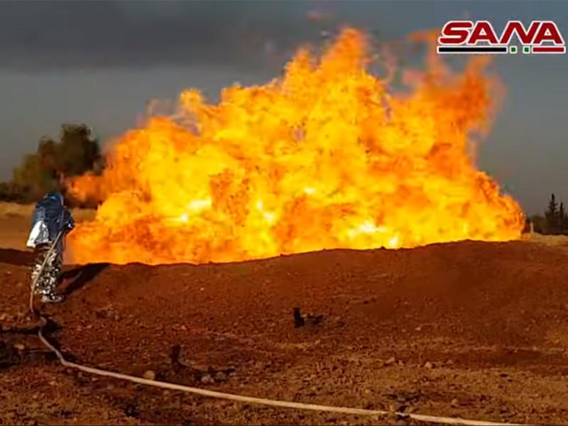 Из-за подрыва газопровода под Дамаском вся территория Сирии осталась без электричества