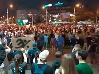 В Минске начались новые задержания, силовики применяют против протестующих светошумовые гранаты и резиновые пули