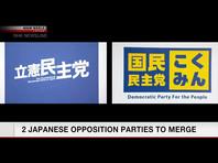 Две крупнейших оппозиционных партии Японии решили объединиться, чтобы совместно выступить против правящей