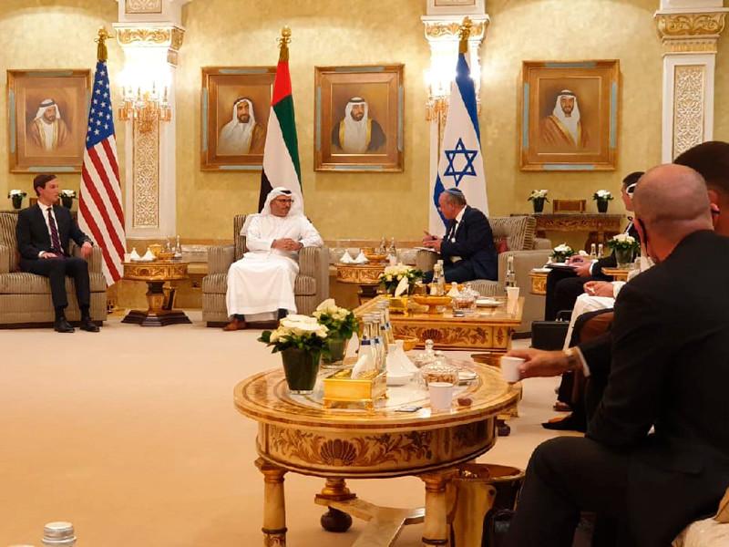 Переговоры в Абу-Даби, 31 августа 2020 года