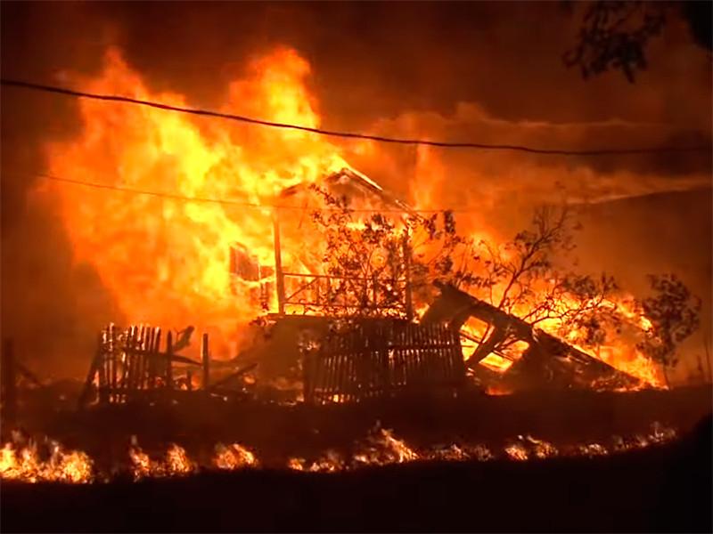 В Калифорнии природные пожары унесли жизни не менее шести человек