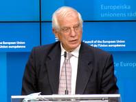 """""""Министры обсуждали санкции. И хотя есть явное желание принять эти санкции, сегодня сделать это было невозможно, поскольку это требует единогласия, а достигнуть его сегодня не удалось"""", - заявил на пресс-конференции глава дипломатии ЕС Жозеп Боррель"""