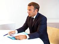 """Макрон подтвердил Путину выводы французских экспертов об отравлении Навального """"Новичком"""""""