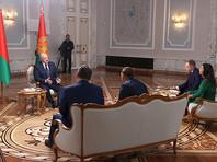 Президент Беларуси Александр Лукашенко дал интервью представителям ведущих российских СМИ, 8 сентября 2020 года
