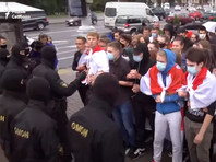 Студенты в Белоруссии отметили 1 сентября акциями за справедливые выборы, есть задержанные (ВИДЕО)