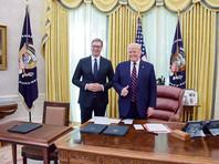 Александр Вучич и Дональд Трамп