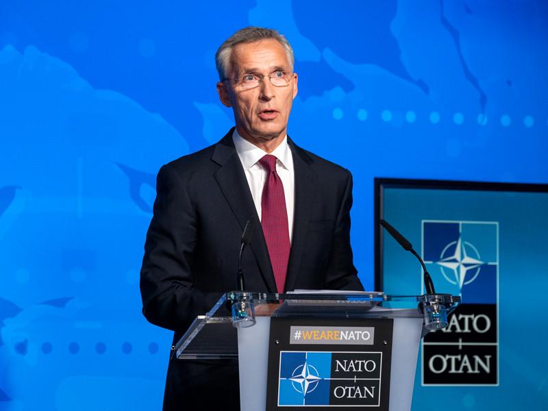 """Генсек НАТО потребовал отРоссии раскрыть всю программу производства """"Новичка"""""""