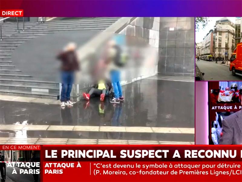 Задержанный в Париже молодой пакистанец признался в нападении на людей у бывшего здания редакции Charlie Hebdo
