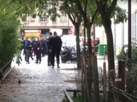 Два человека пострадали у здания бывшей редакции Charlie Hebdo в Париже