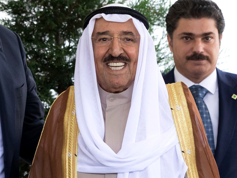 Эмир Кувейта шейх Сабах аль-Ахмад Аль-Сабах