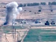 Пресс-служба Минобороны непризнанного Нагорного Карабаха сообщила, что армянские силы уничтожили четыре вертолета и 15 беспилотников, а также десять танков и боевых машин пехоты ВС Азербайджана. Потери Армии обороны НКР уточняются, добавили в ведомстве