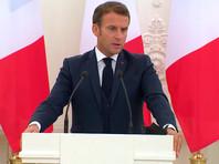 Президент Франции вновь заявил, что Навального отравили химоружием: это несомненно и Кремль должен объясниться