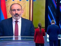 """Никол Пашинян в эфире телеканала """"Россия 1"""""""