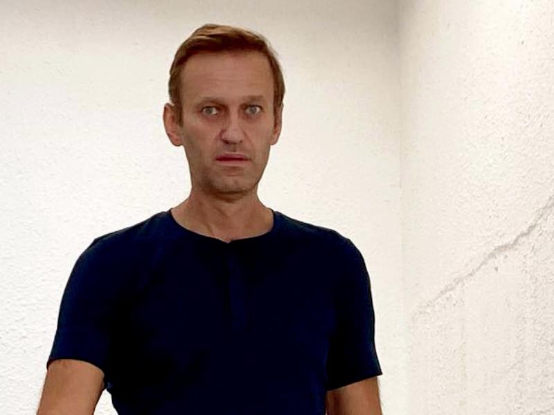 """Меркель навещала Навального в клинике """"Шарите"""""""" />"""