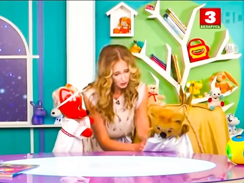 """""""Ты уже не король"""": на белорусском госТВ в детской передаче показали свержение жадного мишки Топы с трона (ВИДЕО)"""