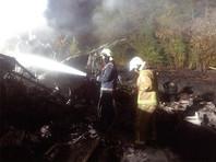 Ан-26 загорелся и упал вечером 25 сентября при заходе на посадку на автодороге Киев - Харьков - Довжанский, возле военного аэропорта Чугуева Харьковской области