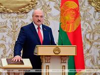 """По словам Лукашенко, в этот день президент """"дает клятву на верность Отечеству и народу с особым чувством"""", в котором """"очень много гордости за белорусов, которые с честью прошли испытания на прочность, прежде всего, своих убеждений"""""""