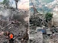"""На юге Ливана взорвался оружейных склад, принадлежащий """"Хезболле"""""""