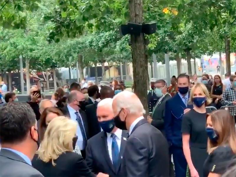 Байден, Пенс и Куомо почтили память жертв 11 сентября 2001 года