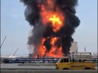 В морском порту Бейрута вспыхнул новый сильный пожар (ВИДЕО)
