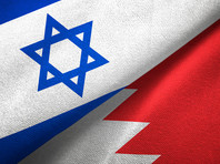 Флаги Израиля и Бахрейна