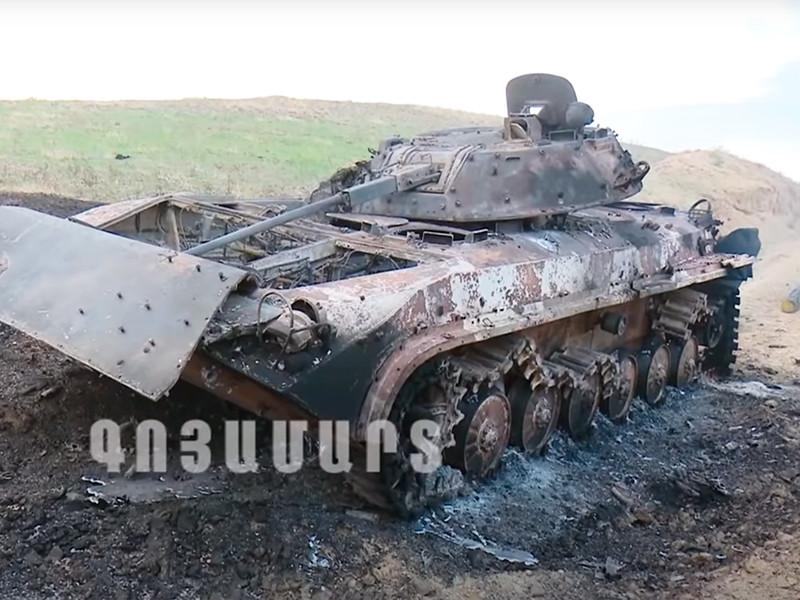 """Азербайджан и Армения сообщили о потерях сторон в ходе воскресных боев, разойдясь в числе убитых"""" />"""