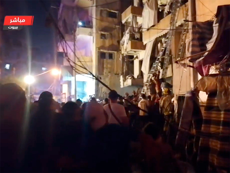 В Бейруте взорвался топливный склад. Есть погибшие