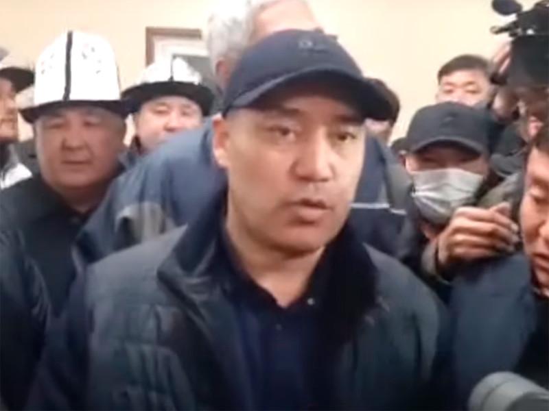Ставший премьер-министром Киргизии оппозиционер попросил свернуть митинг у дома правительства