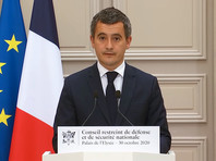 Глава МВД Франции Жеральд Дарманен