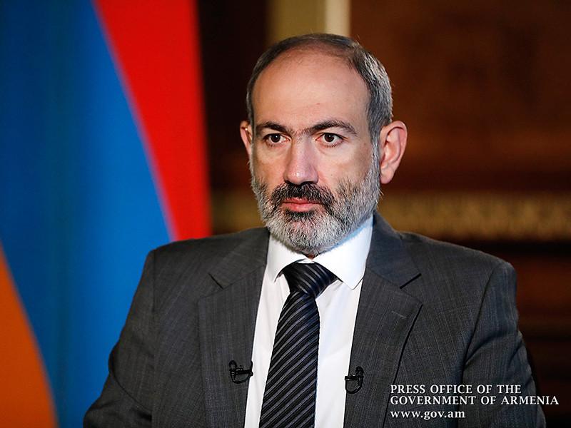 """Пашинян заявил о """"легитимном"""" праве РФ на антитеррористическую операцию в Нагорном Карабахе"""