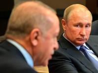 Путин и Эрдоган обсудили по телефону ситуацию в Нагорном Карабахе