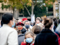 Во Франции число заражений коронавирусом превысило миллион