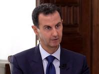 Башар Асад обвинил Эрдогана в развязывании конфликта в Нагорном Карабахе