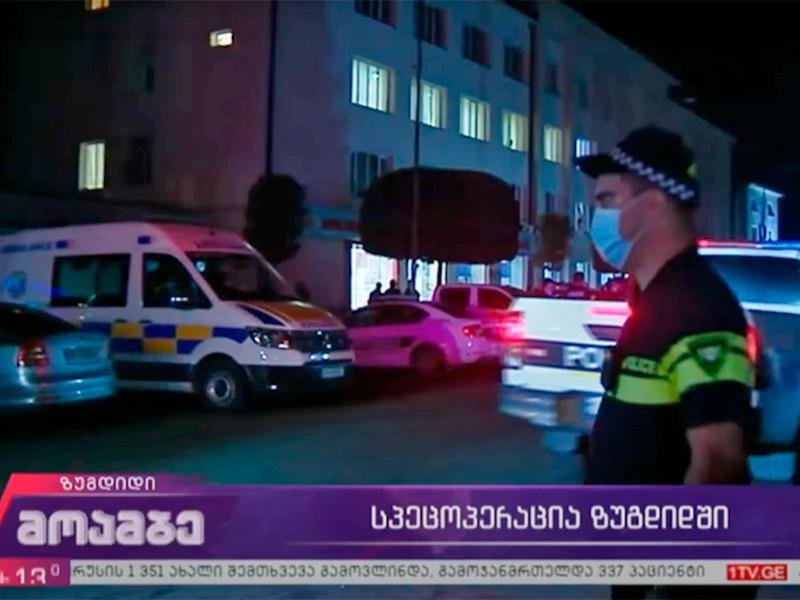 В Грузии освободили всех заложников, захваченных в банке Зугдиди, преступник скрылся с $500 тыс.