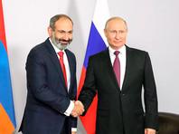 Пашинян попросил Путина о консультациях по оказанию помощи Армении