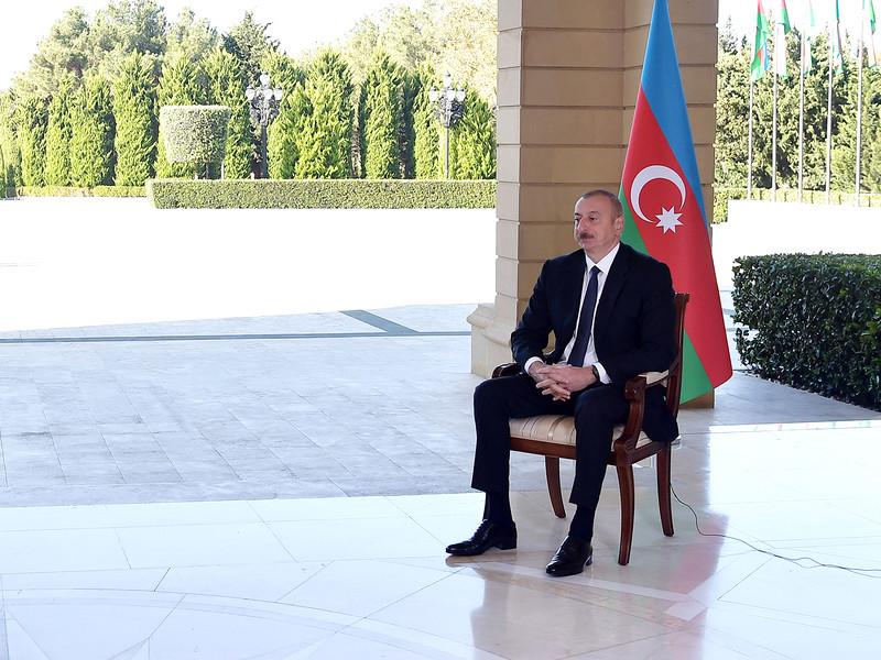 Ильхам Алиев: Азербайджан занял более 40 населенных пунктов в Карабахе